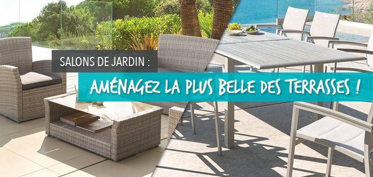 Salons de jardin : aménagez la plus belle des terrasses !