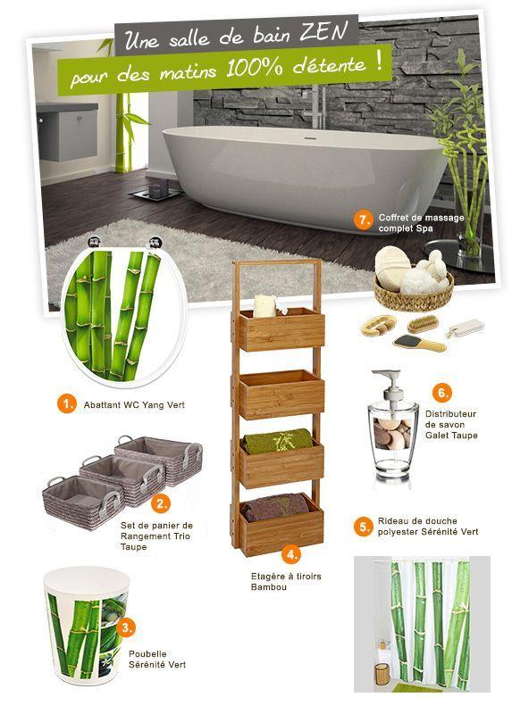 Accessoires zen for Objet deco salle de bain zen