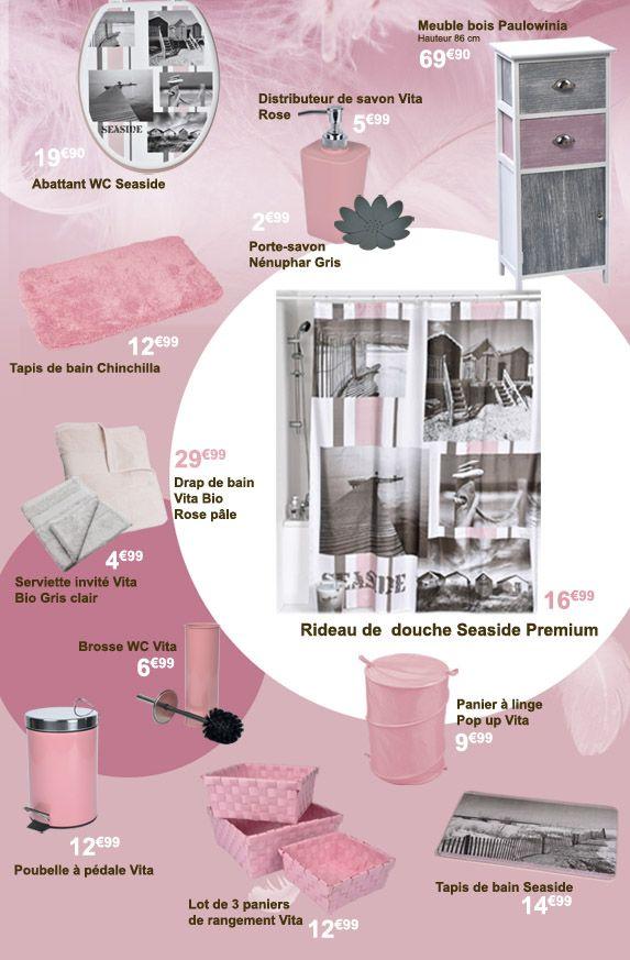 tapis de salle de bain eminza des conseils et boutiques spcialises - Accessoire De Salle De Bain Rose