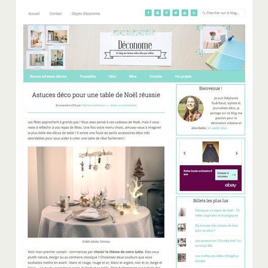Eminza dans le blog deconome.com