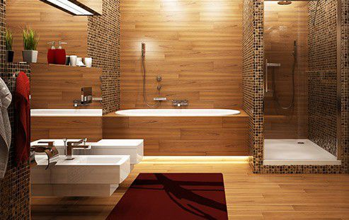 salle de bain nos 8 styles tendances dcouvrir - Salle De Bain Chaleureuse