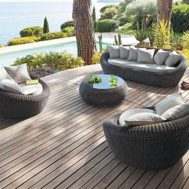 Mobilier de jardin - Salon de jardin, Bain de soleil, Tonnelle - Eminza