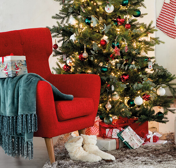 décor de Noël esprit traditionnel 2018