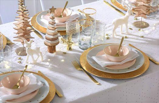 Promo: Habillez votre table de fête à prix tout doux !