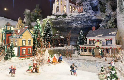 Promo sur les villages de Noël - C'est le moment de faire de bonnes affaires !