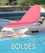 Nouveaut s bains de soleil et chaises longues - Bain de soleil soldes ...