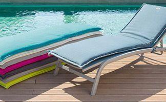 Coussins de bain de soleil : moelleux et tendance !