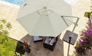 Parasol déporté : profitez de votre terrasse à toute heure !