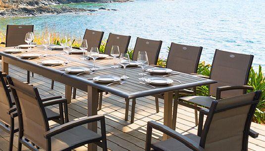 Salon de jardin - Salon de jardin, Table et Chaise de jardin - Eminza