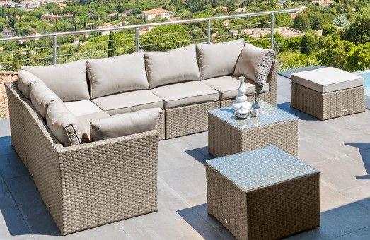 Préparez le retour des beaux jours avec nos salons de jardin