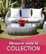 Nouveaut�s salon de jardin pour votre d�coration ext�rieur