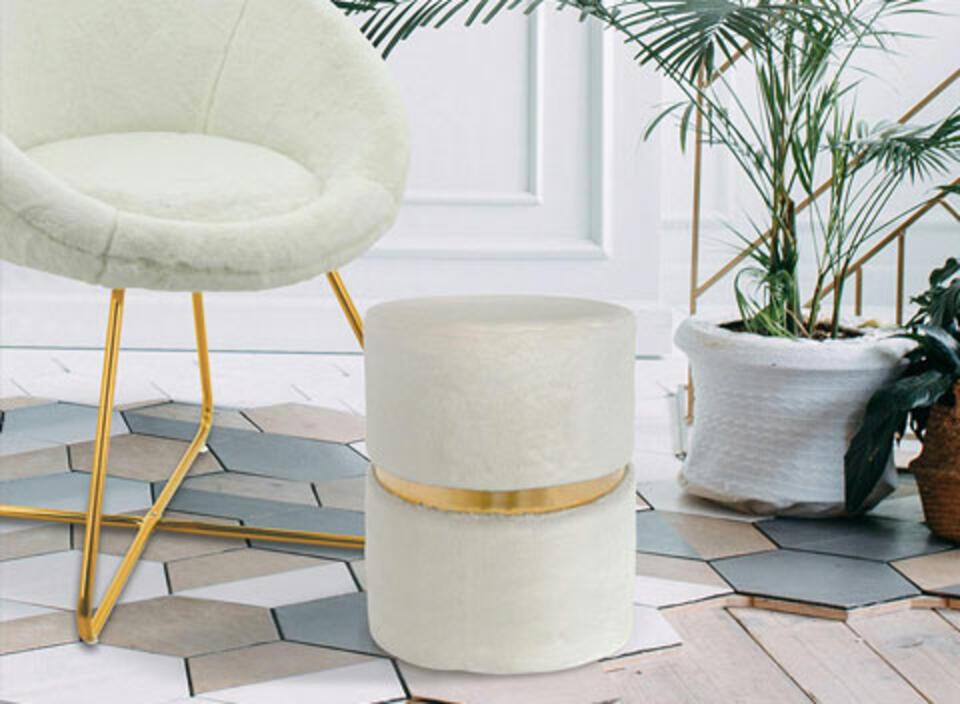 sillón blanco tendencia