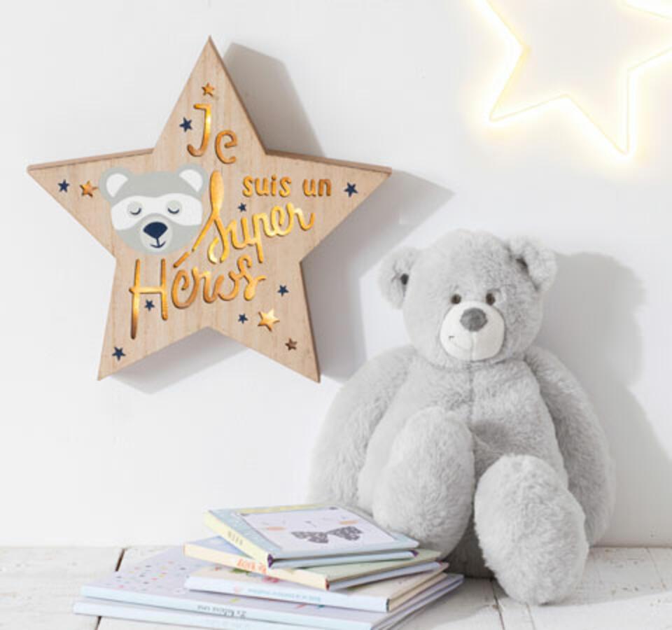Estrella pared infantil