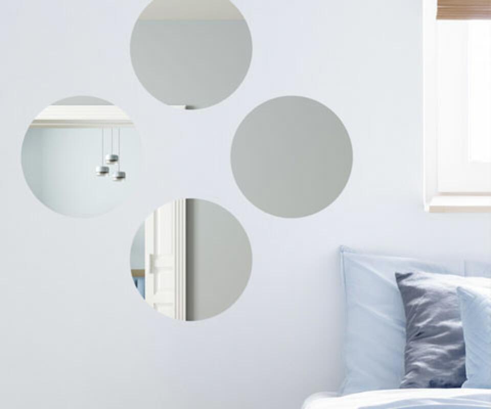 Specchio da parete rotondo