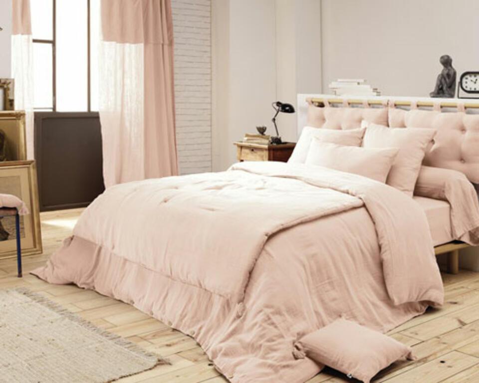 Cabecero de cama de tela