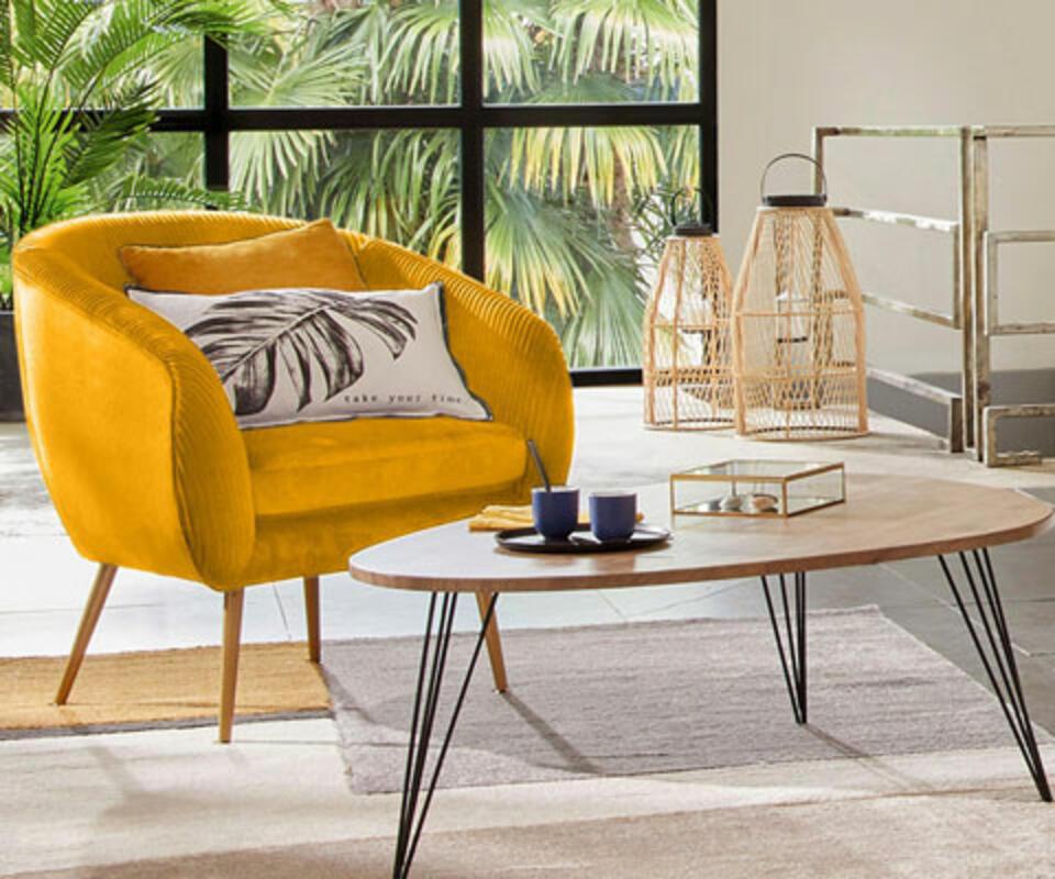 sillón para sala de diseño