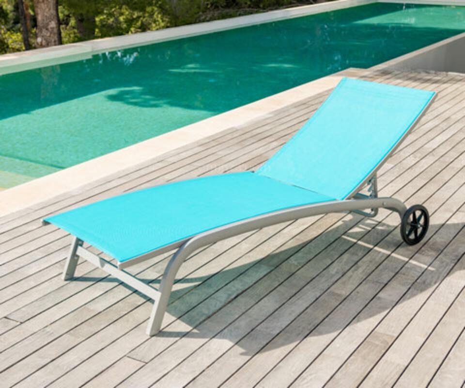 bain de soleil alu et textilene