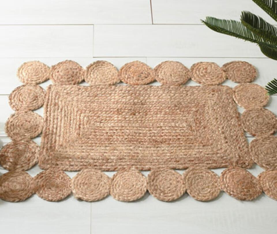 tappeto iuta rettangolare
