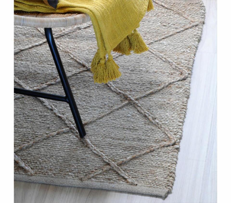 tappeto in iuta naturale