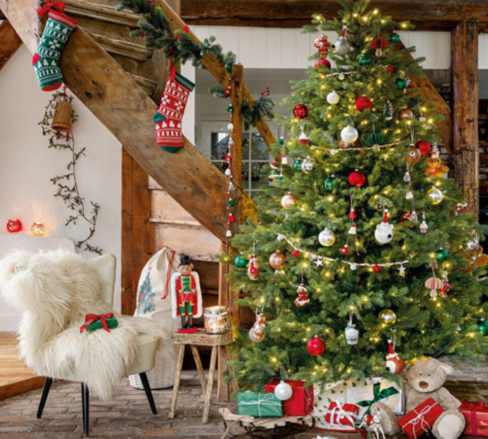 Albero di Natale vintage