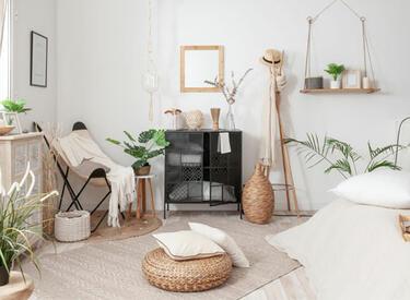 décoration chambre naturelle