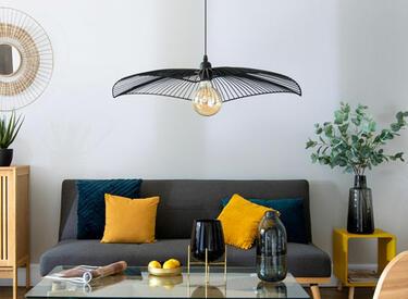 Lampadario nero design