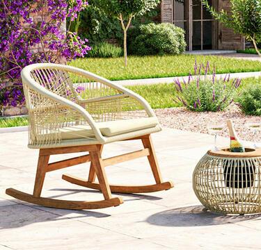 silla mecedora de diseño