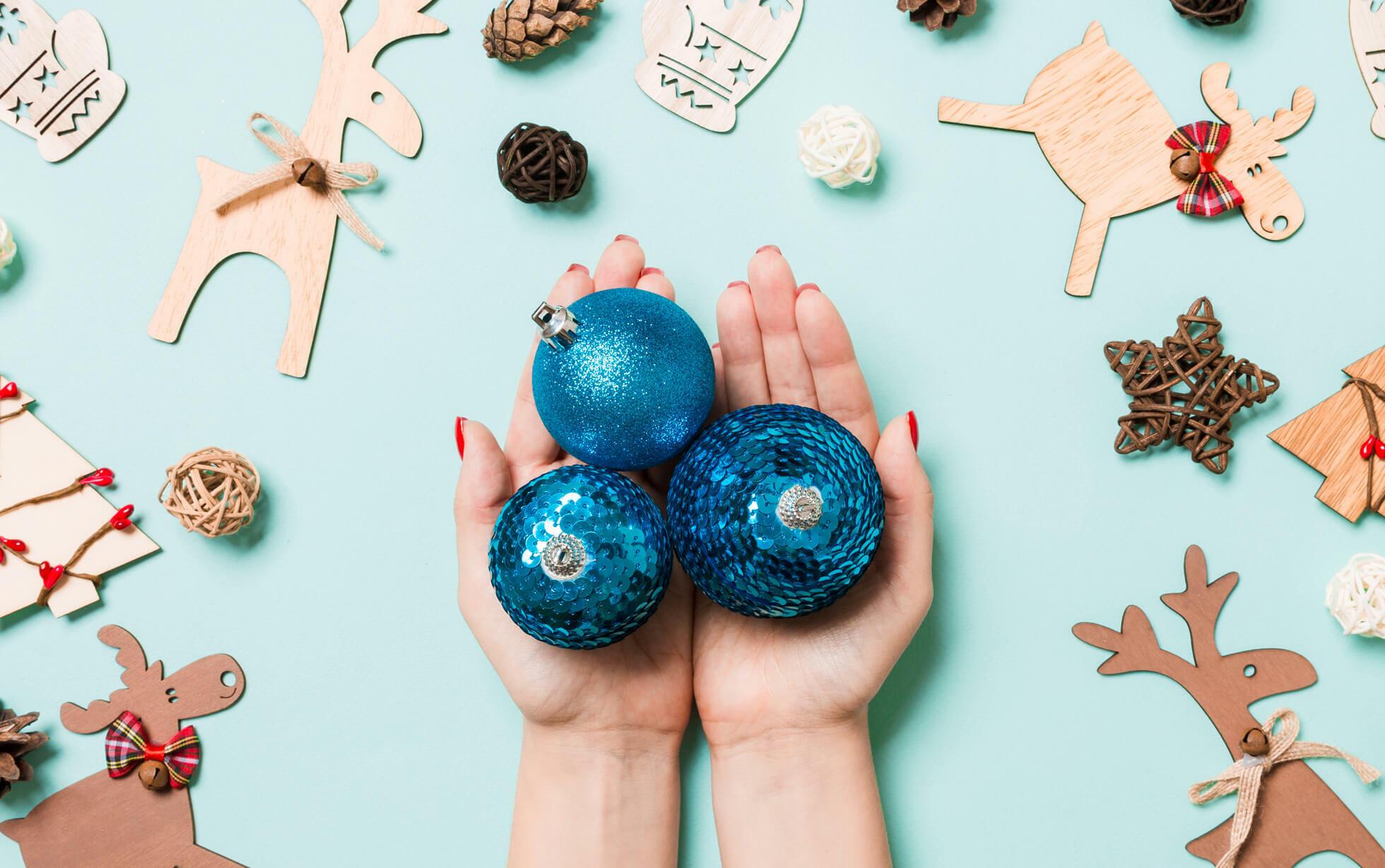 addobbi di Natale facili da realizzare