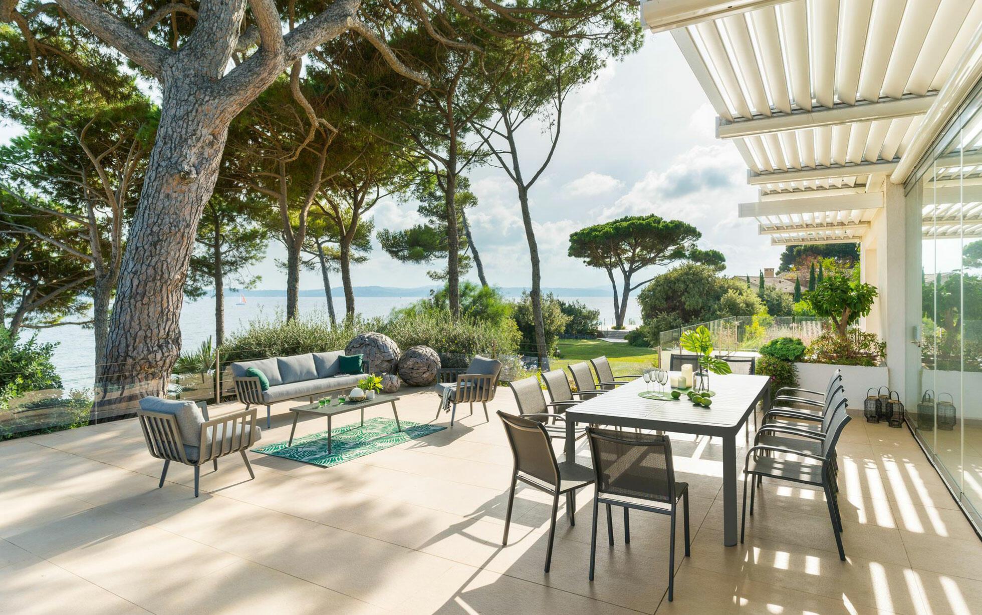 muebles de jardín: ventajas del aluminio