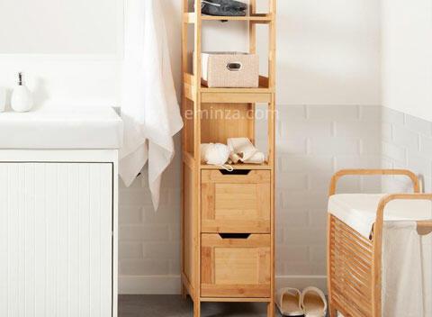 meuble en bois salle de bain