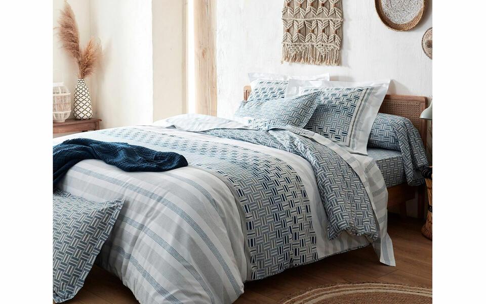 ropa de cama en tela orgánica
