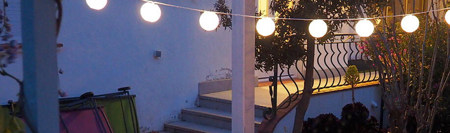 Outdoor Beleuchtung