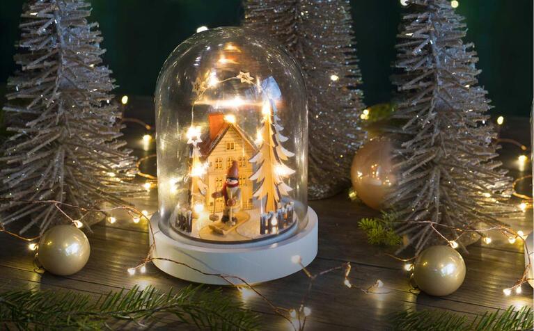 Weihnachtsbeleuchtung für Drinnen