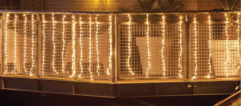 Beleuchtung für Balkons